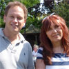 Grant Shapps MP with Janis Sharp